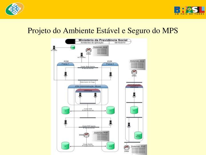 Projeto do Ambiente Estável e Seguro do MPS