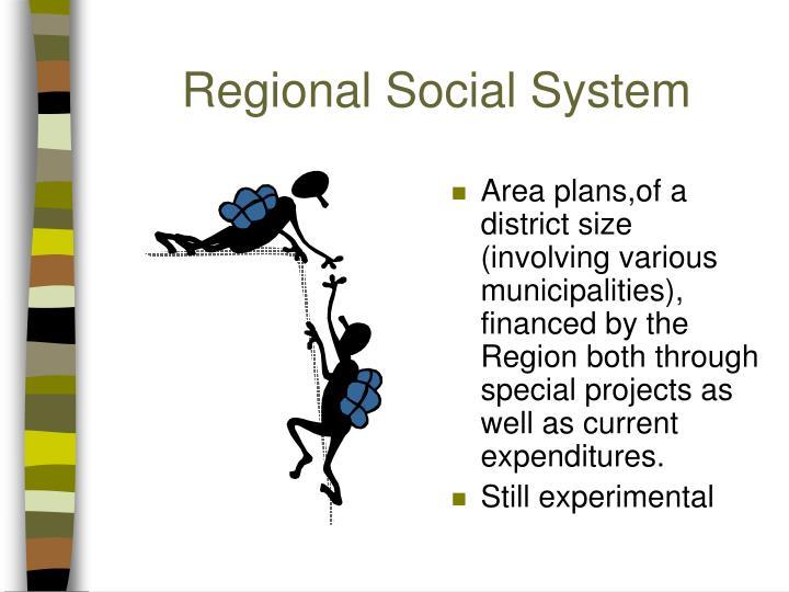 Regional Social System