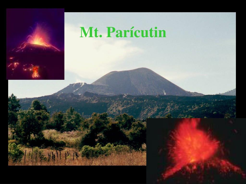 Mt. Parícutin