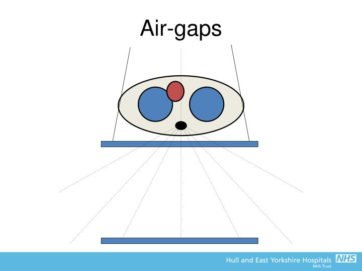 Air-gaps