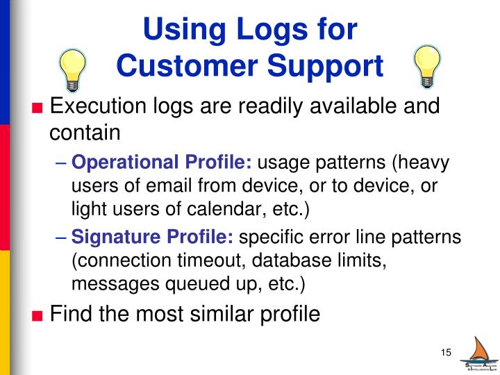 Using Logs for