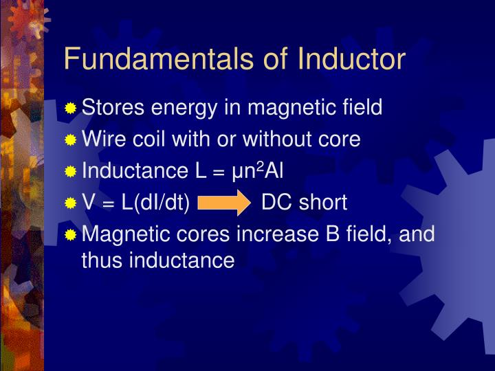 Fundamentals of Inductor