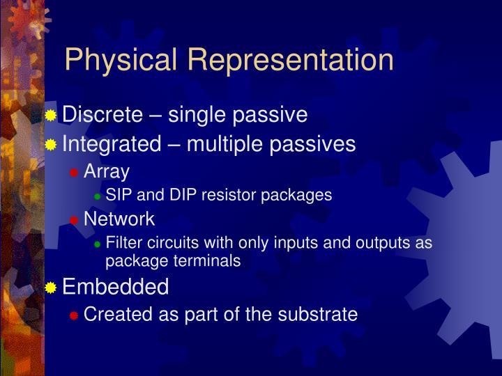 Physical Representation