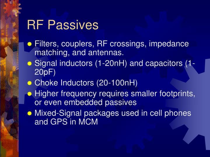 RF Passives