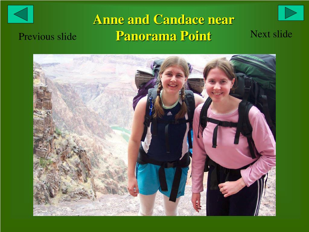 Anne and Candace near Panorama Point