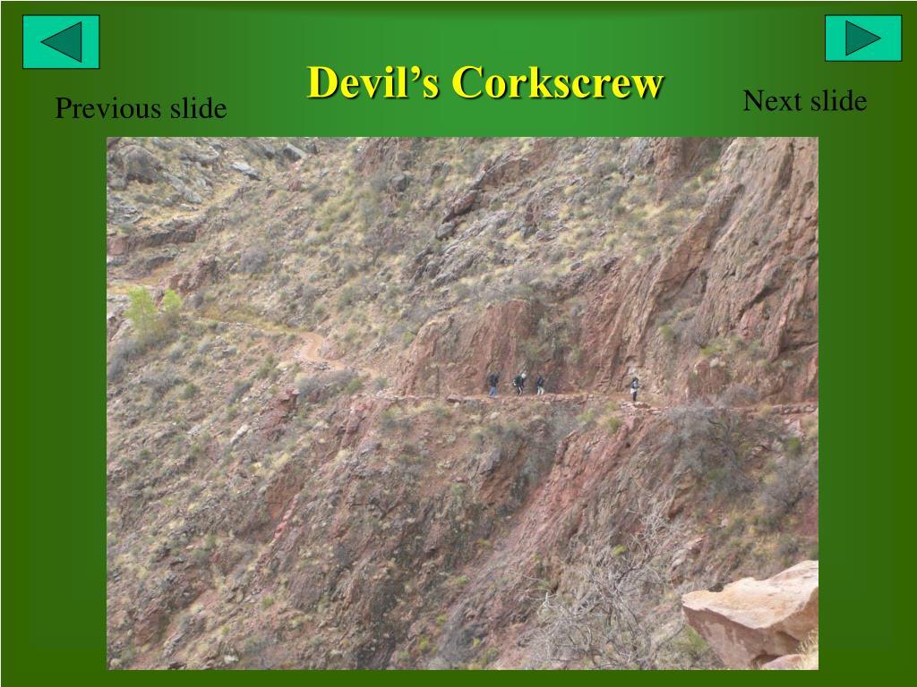 Devil's Corkscrew