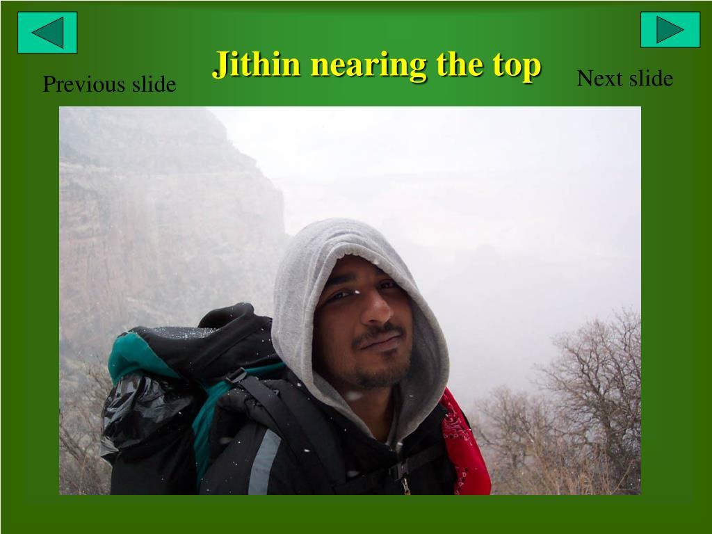 Jithin nearing the top