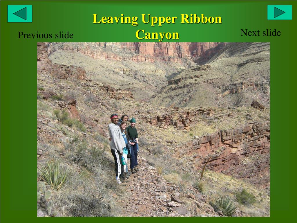 Leaving Upper Ribbon Canyon