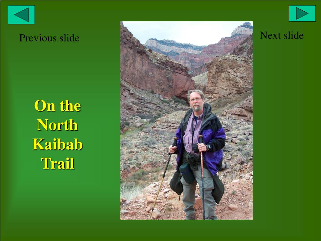 On the North Kaibab Trail