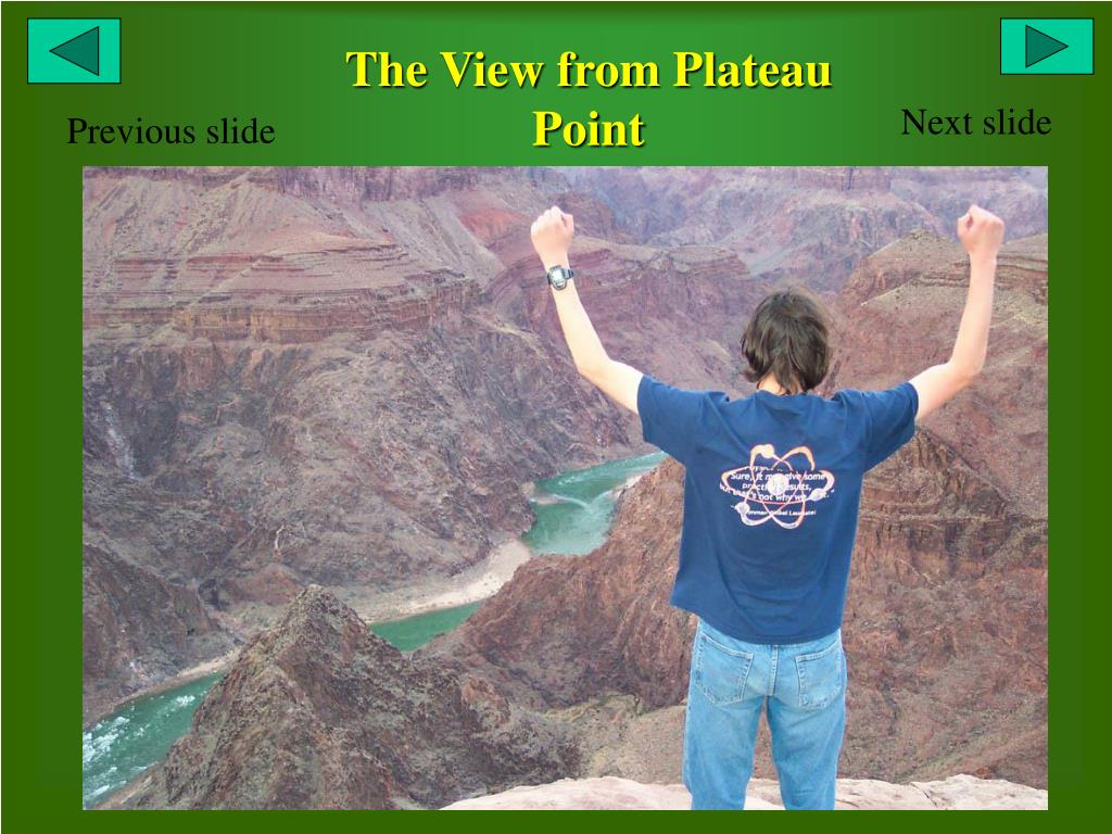 The View from Plateau Point