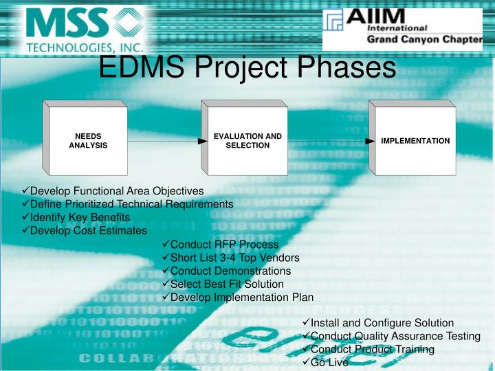 Edms project phases