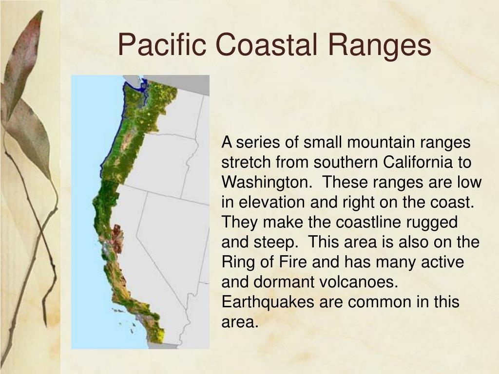 Pacific Coastal Ranges