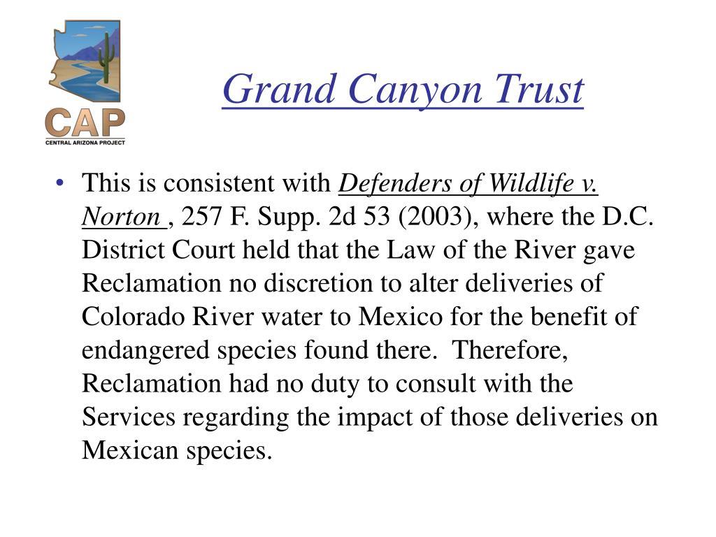 Grand Canyon Trust