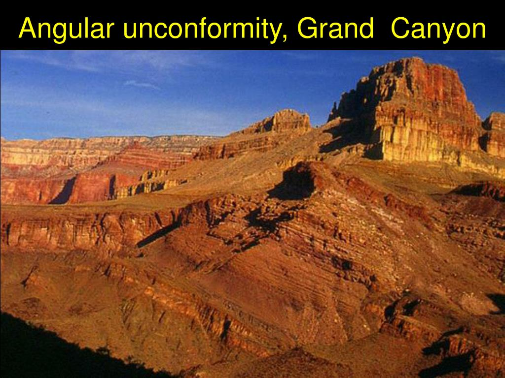 Angular unconformity, Grand  Canyon