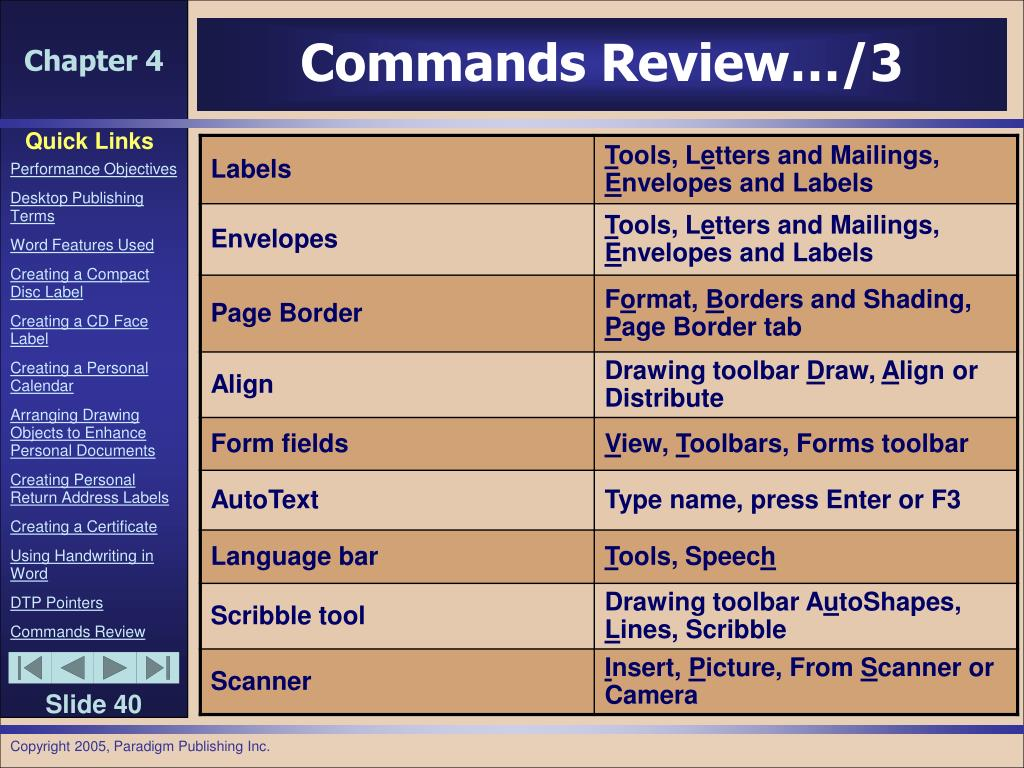 Commands Review…/3