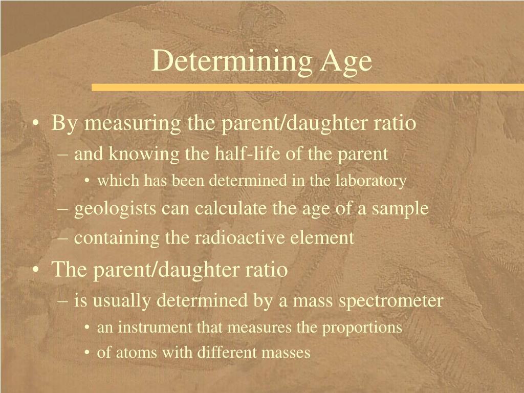 Determining Age