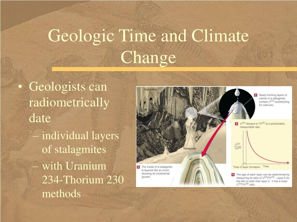 Geologic Time and Climate Change