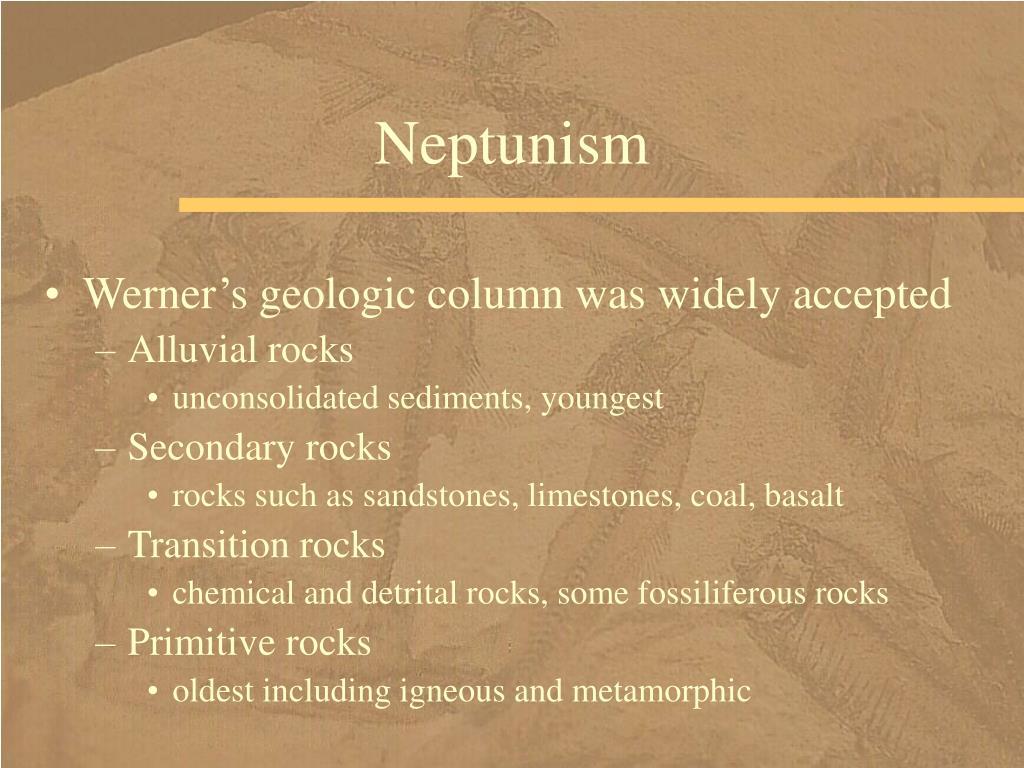 Neptunism