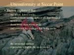 unconformity at siccar point