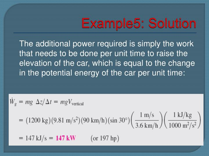 Example5: Solution