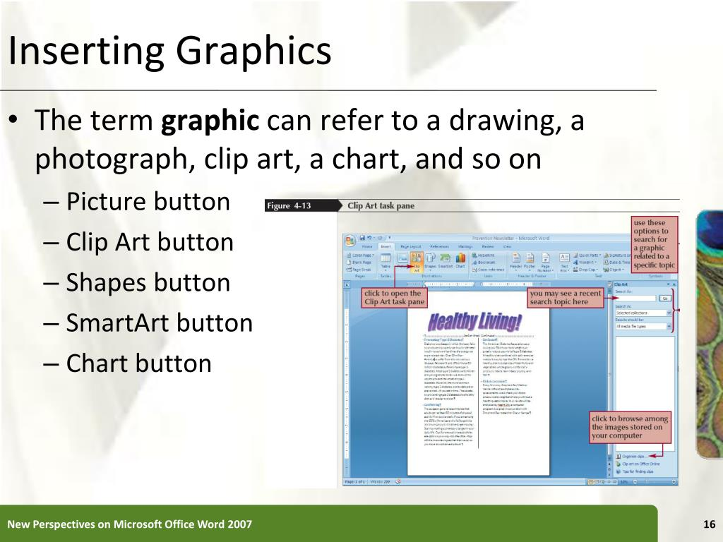 Inserting Graphics