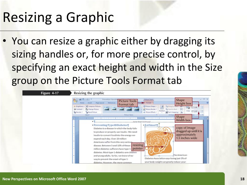 Resizing a Graphic