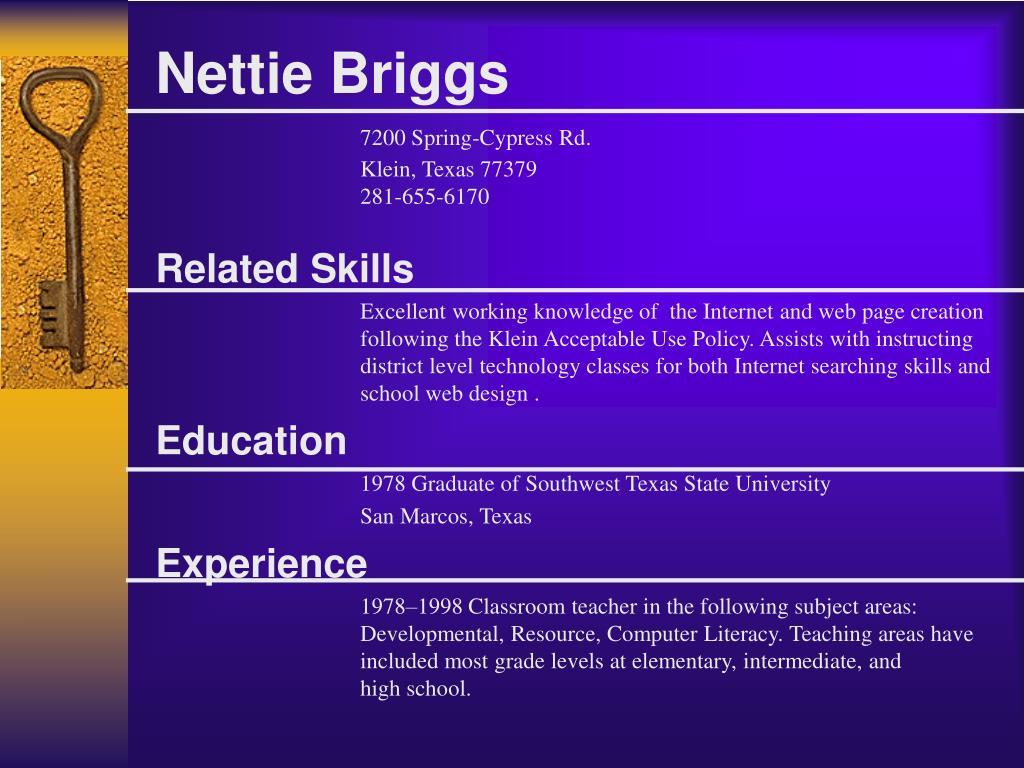 Nettie Briggs