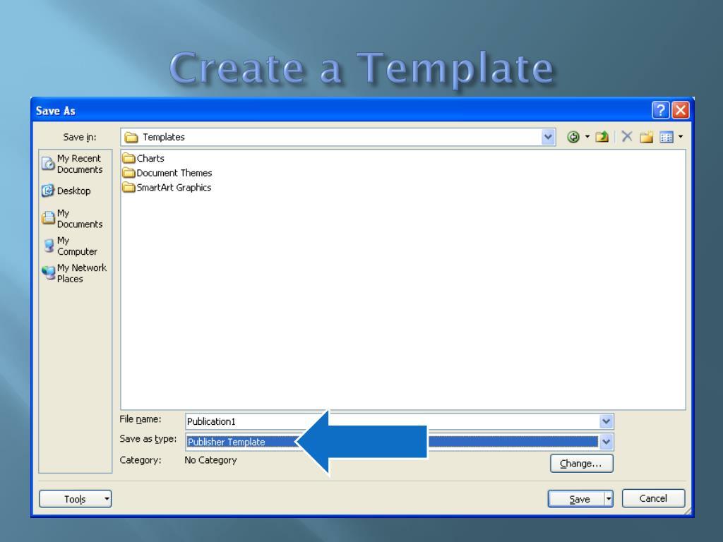 Create a Template