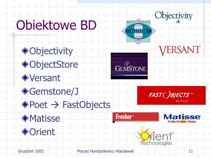 Obiektowe BD