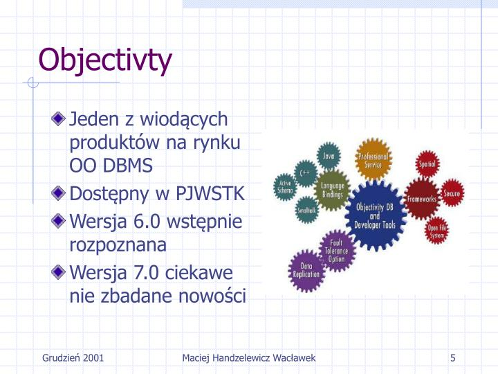 Objectivty