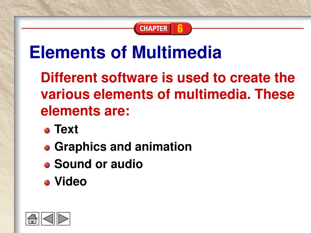 Elements of Multimedia