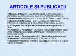 articole i publica ii