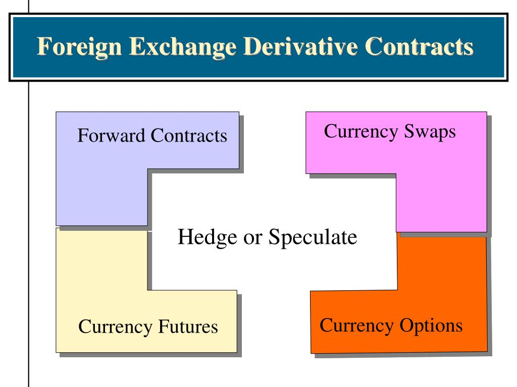 Foreign Exchange Derivative Contracts