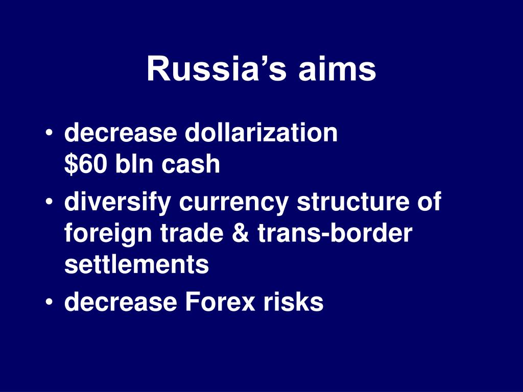 Russia's aims
