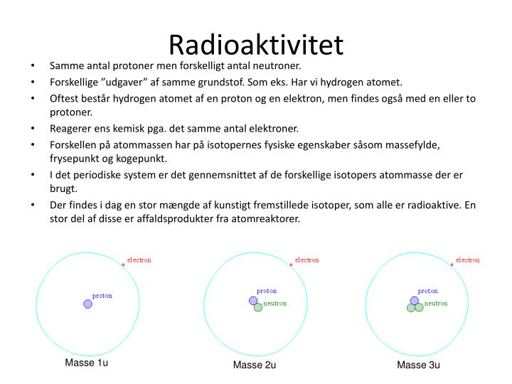 Radioaktivitet