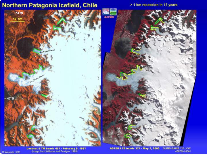 N. Patagonia Ice Field