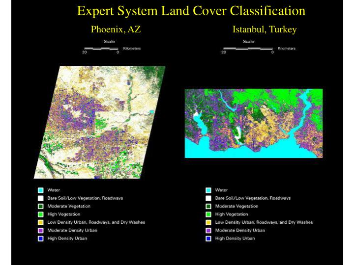 Expert System Land Cover Classification