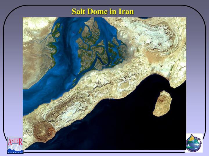 Salt Dome in Iran