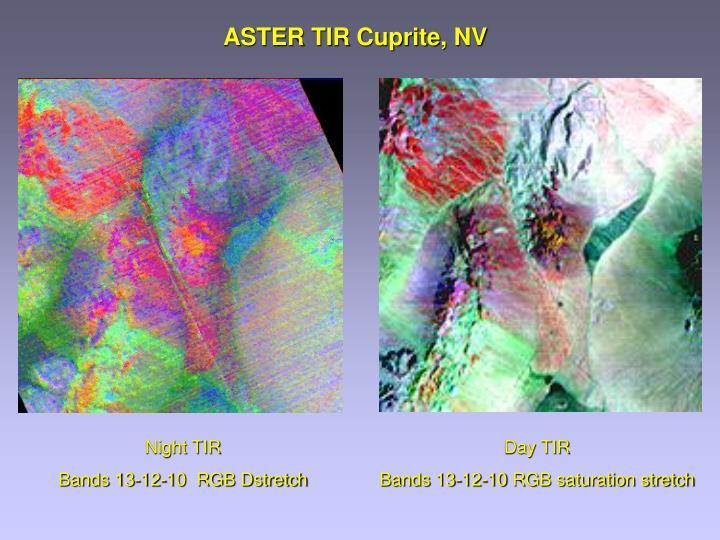 ASTER TIR Cuprite, NV