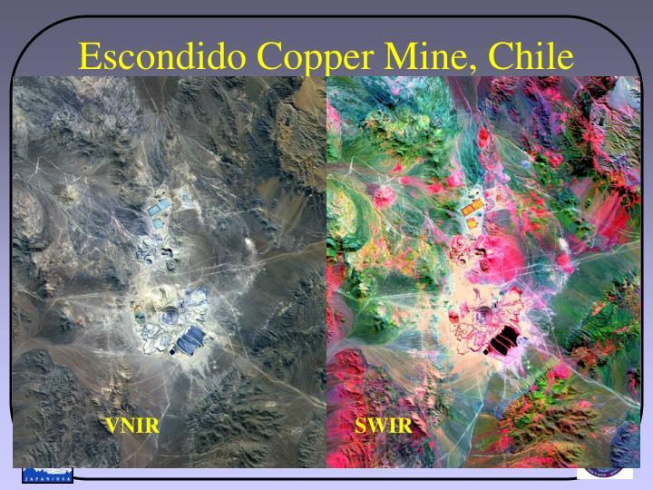 Escondido Copper Mine, Chile