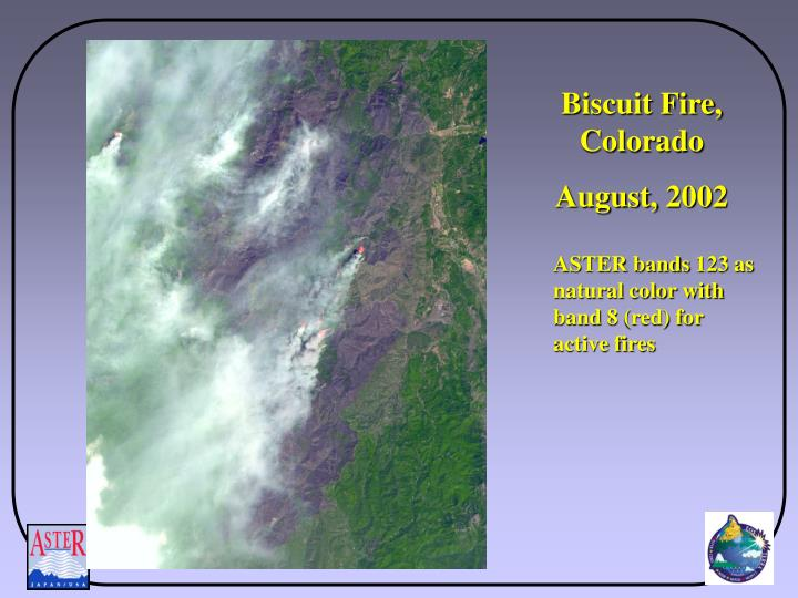 Biscuit Fire, Colorado