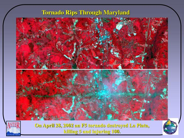 Tornado Rips Through Maryland