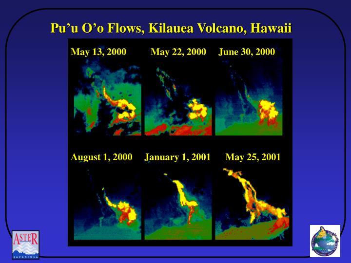 Pu'u O'o Flows, Kilauea Volcano, Hawaii