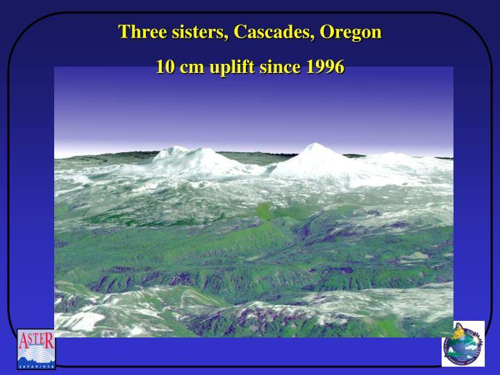 Three sisters, Cascades, Oregon