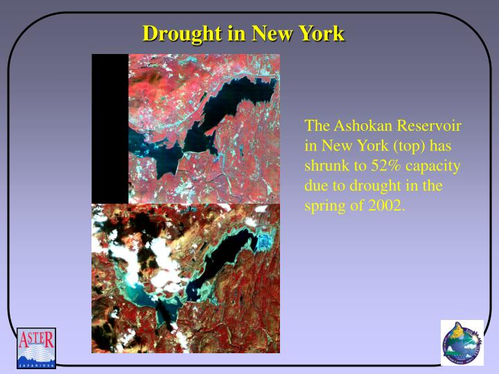 Drought in New York