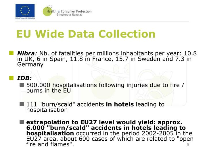 EU Wide Data Collection