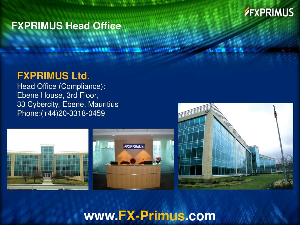 FXPRIMUS Head Office