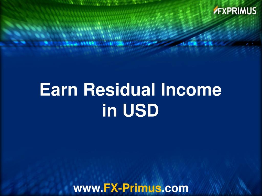 Earn Residual Income