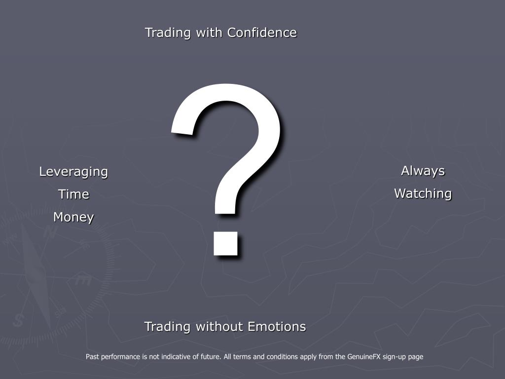 Trading with Confidence