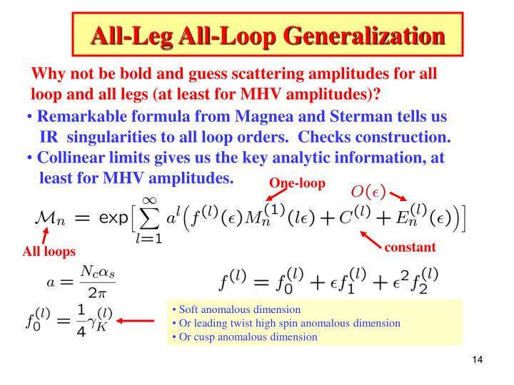 All-Leg All-Loop Generalization